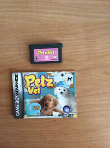 Petz Vet Gameboy Advance Game