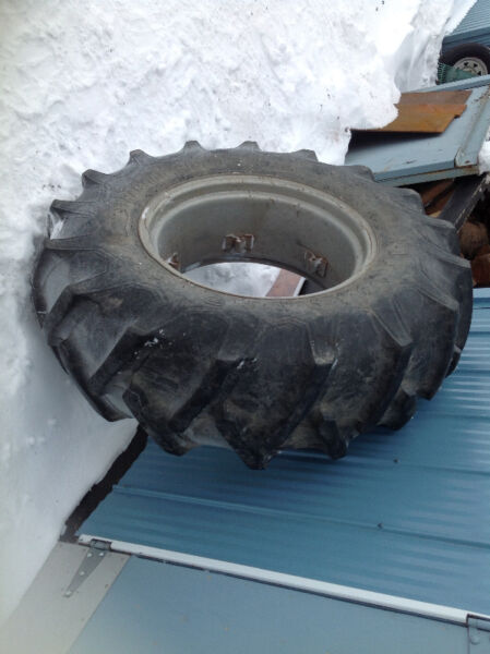 24 Inch Tractor Rim : Firestone tractor tire inch on massey