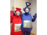 Teletubbies dressing up costumes adult X 3