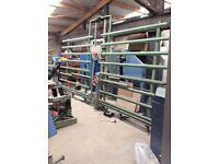 Large Holz Her Panel Cutting Wall Saw 3 Phase