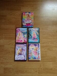 5 Barbie Movies For Sale