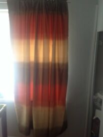 Ombré curtains from next