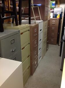 """LOTS OF SCRATCH AND DENT """"4-DRAWER FILING CABINETS FOR SALE Kitchener / Waterloo Kitchener Area image 1"""