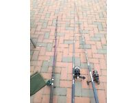 Boat fishing rods for sale x 2