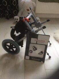 Dot rear support wheelchair