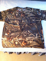 Men's Camouflage hunting clothing $60