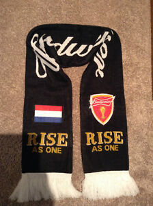 Netherlands 2014 FIFA Cup Soccer Rally Scarf -Budweiser Kitchener / Waterloo Kitchener Area image 2