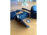 Canon Legria HF R306 Full HD Camcorder with case