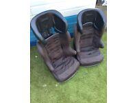 Child's car seats suitable for 9-18kg child