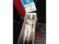 Acupuncture Chinese doll/statue. £55