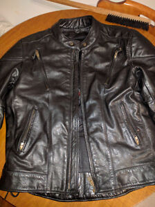 Real leather jacket Cornwall Ontario image 1