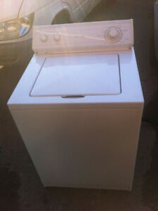 Many used washers and dryers