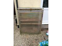 Solid small greenhouse or propagator