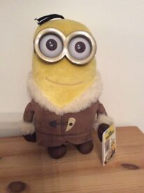 Toy minion (Kevin) new with labels