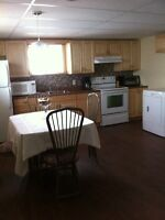 2 bedrooms in spacious basement apt./ 2 chambres a louer