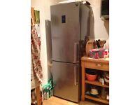 Fridge Freezer, Samsung 2 door 310ltr, Stainless steel.