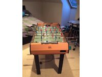Table football, pool table and air hockey table in one