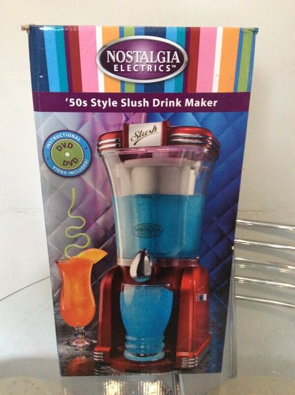 Slush drinks maker boxed