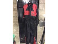 Motorcycle one piece oversuit