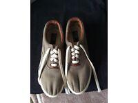 Ralph Lauren canvas shoes size 12