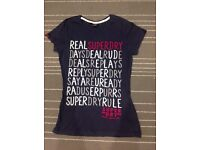 Superdry T-shirt Size Small