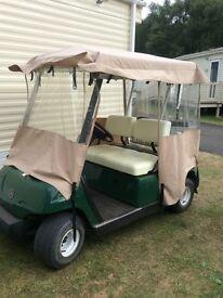 Golf buggy battery