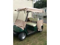 Golf buggy battery