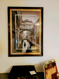 Large Venice Frame Picture