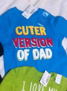 Baby boys children's place brand new with tags onesie/shirt lot Windsor Region Ontario image 3