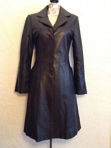 Manteau automne en cuir MACKAGE, taille XSMALL, peu porté, $60
