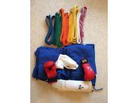 EKKA Karate Gi + Belts + Pad Set