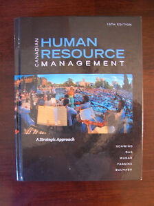 Canadian Human Resources Management textbook