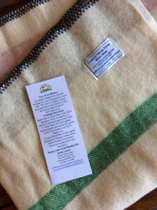 New: Soft, 100% virgin wool blanket from Lismore Sheep Farm