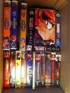 akira digimon slayer kite and more vhs all mint