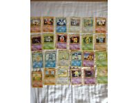 Pokemon common uncommon cards bulk, base rare out of print