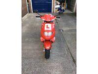 Red TGB 303R 50cc for sale