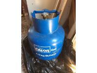 Gas canister, Calor Gas, 4.5kg butane, with regulator