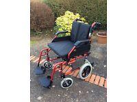 """20"""" Enigma XS Aluminium Transit Wheelchair"""