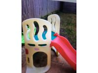Little tikes hide climb and slide