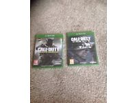 2 new and sealed Xbox one games Christmas present