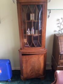 Antique Corner Unit