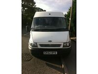 Transit 2.0 swb high roof 52 plate 103k spares or repair NO OFFERS