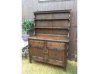 SoIid wood vintage Ercol Welsh dresser