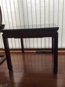 2 Rosewood Lamp Tables