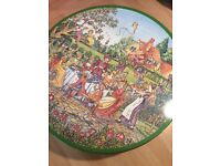 Huntley and palmer naughty biscuit tin.