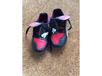 Boys size 10 Puma football boots