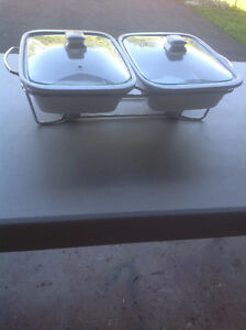 Double Warming Dishes
