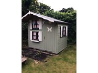 Wooden Wendy house 2 storey