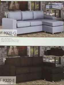 Sectional Sofa Available Grey and Espresso