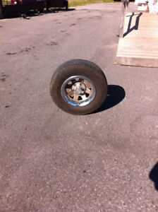 1977 GMC  Rims and Tires